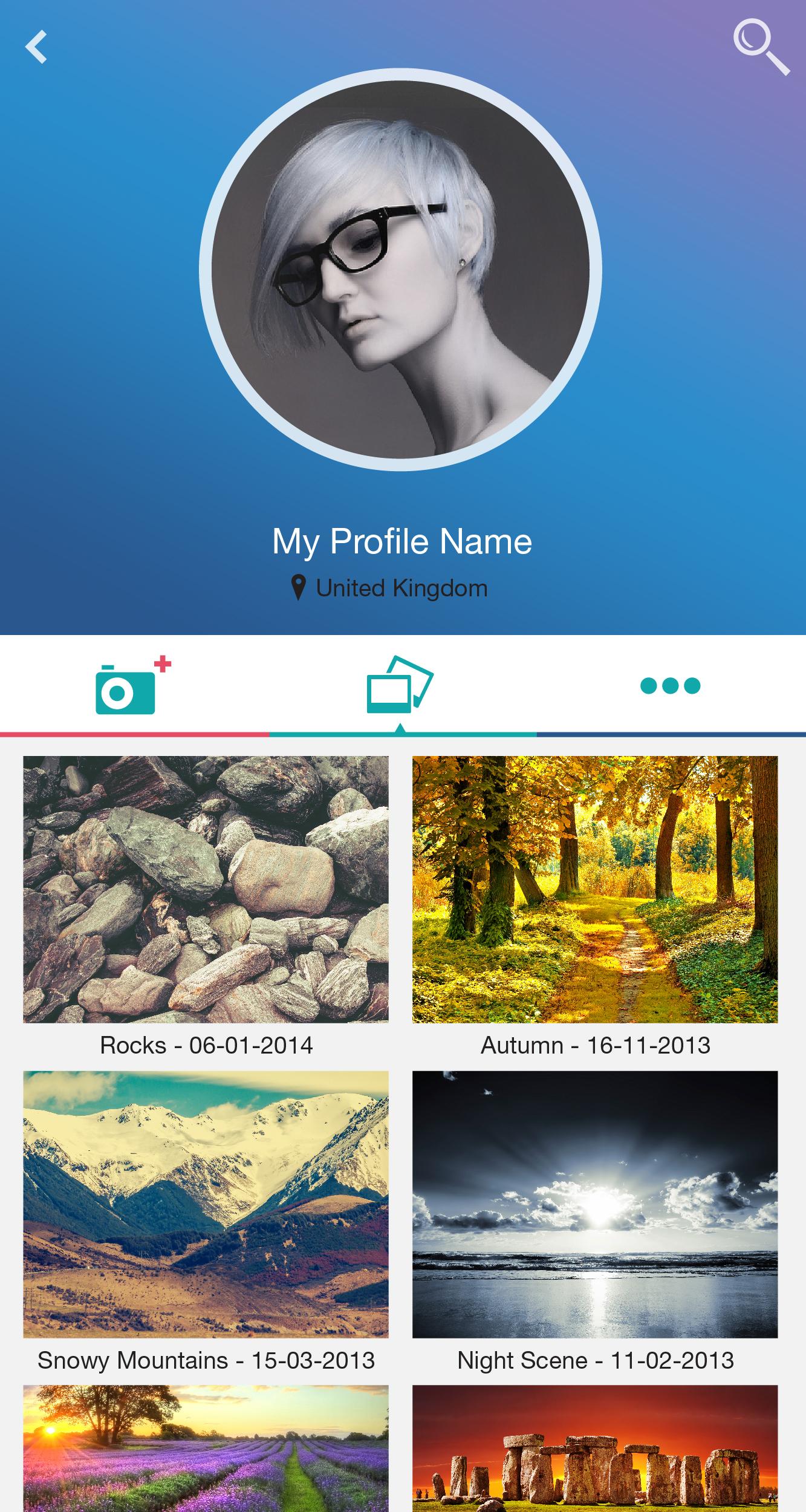Photography app Hi-Res