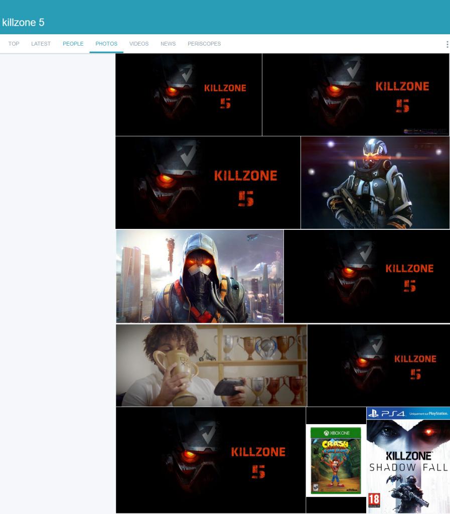 Killzone Twiiter Trending