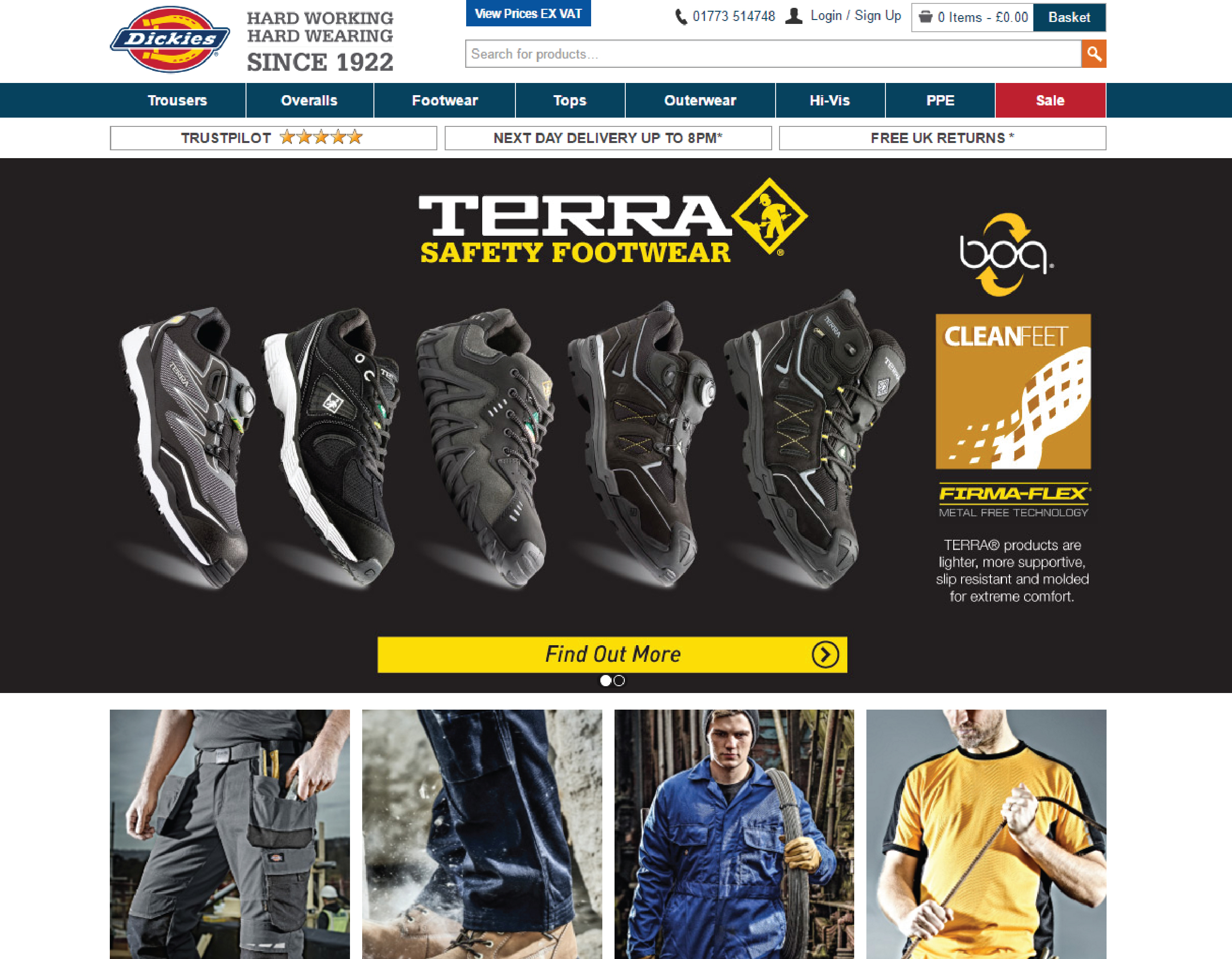 Terra Safety Footwear